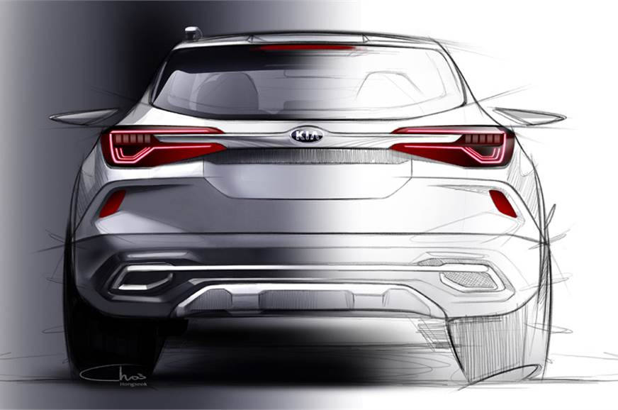 Kia SP SUV sketch
