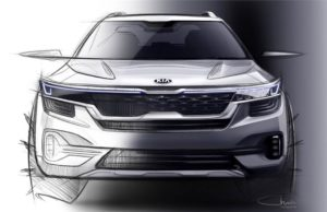Kia SP SUV sketch