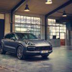 New Porsche Cayenne Coupe
