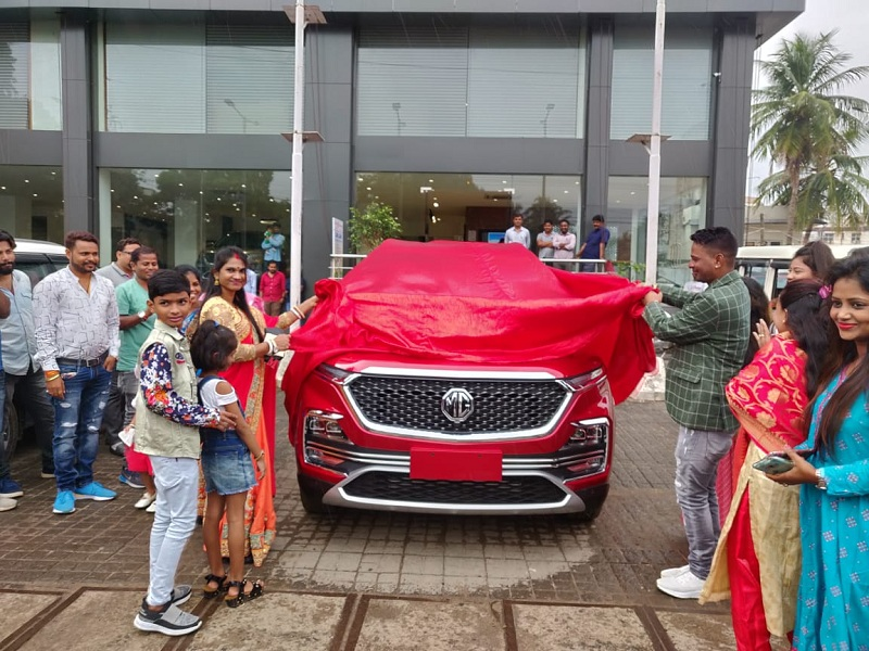 mg hector delivery autoindica