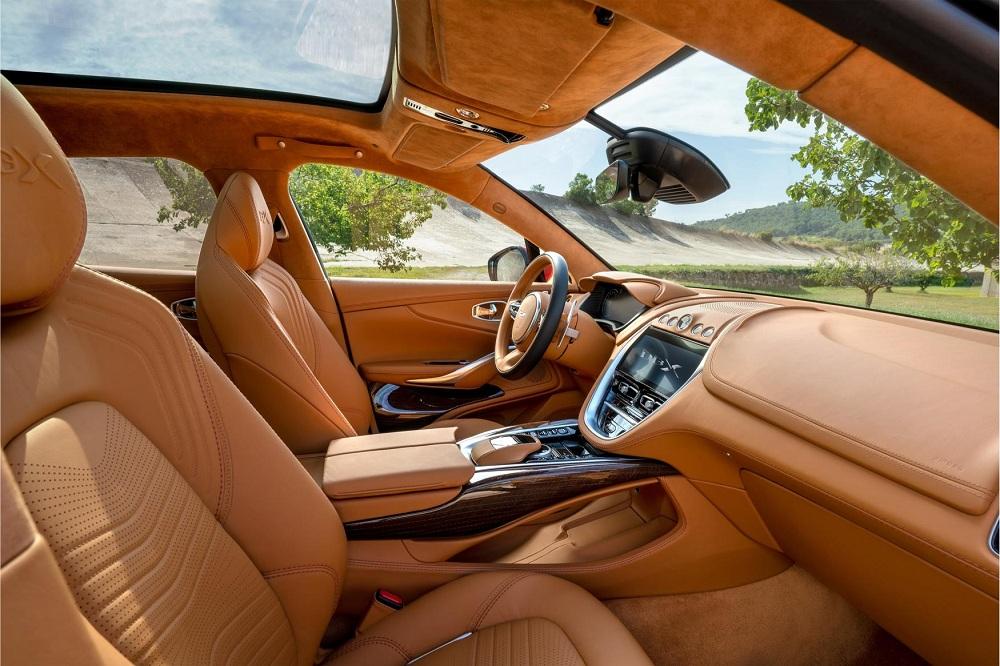 aston martin dbx interior autoindica