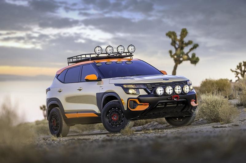 Seltos X-Line Trail Attack Concept & Seltos X-Line Urban Concept